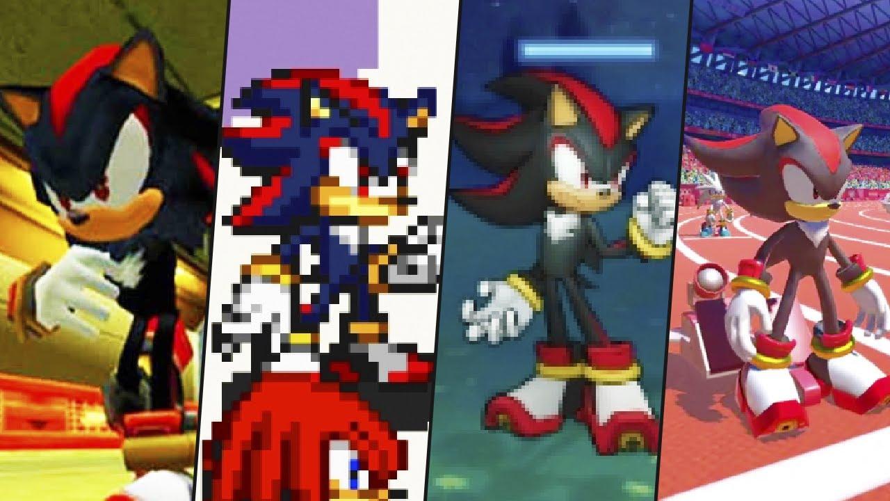 Evolution of Shadow the Hedgehog (2001-2020)