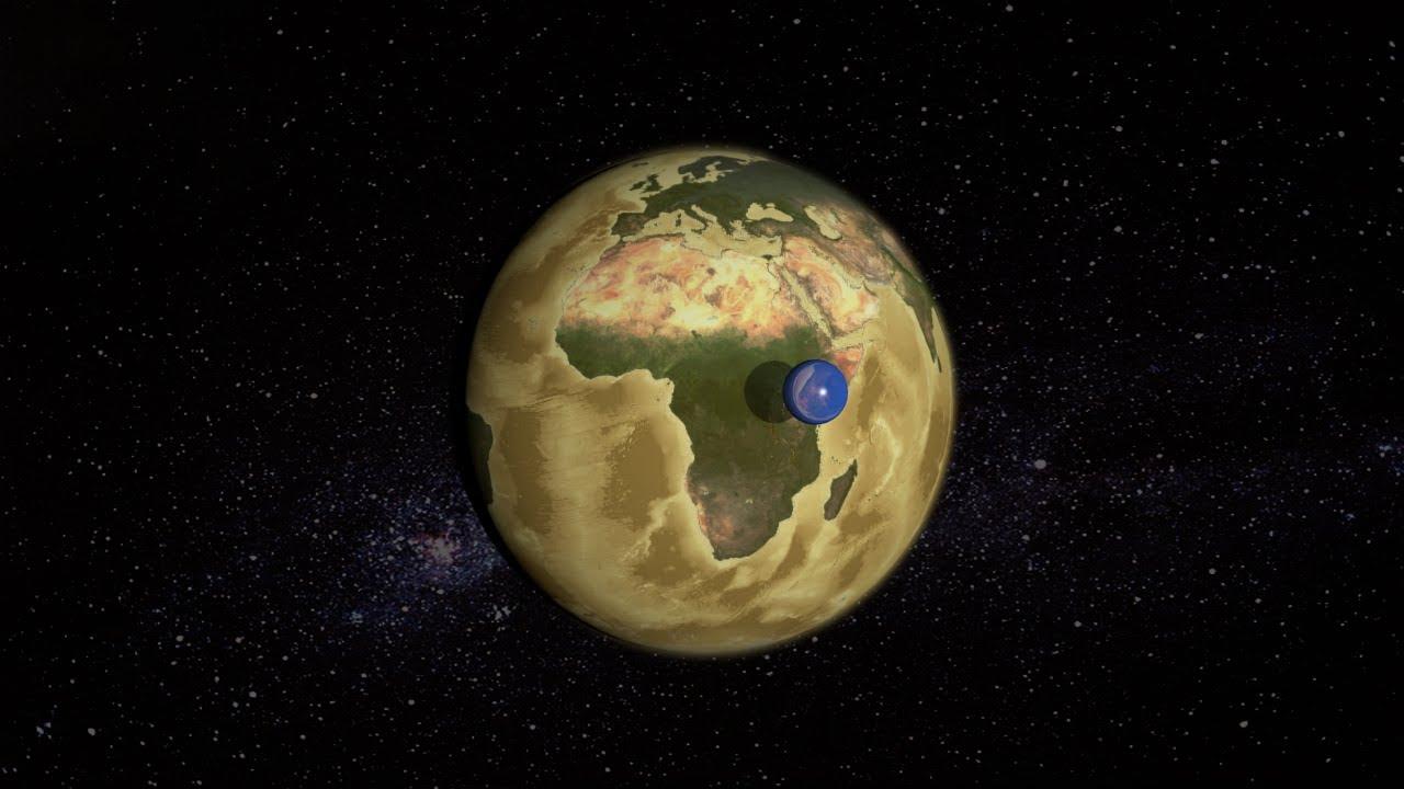 Cómo se vería la Tierra sin agua? - YouTube