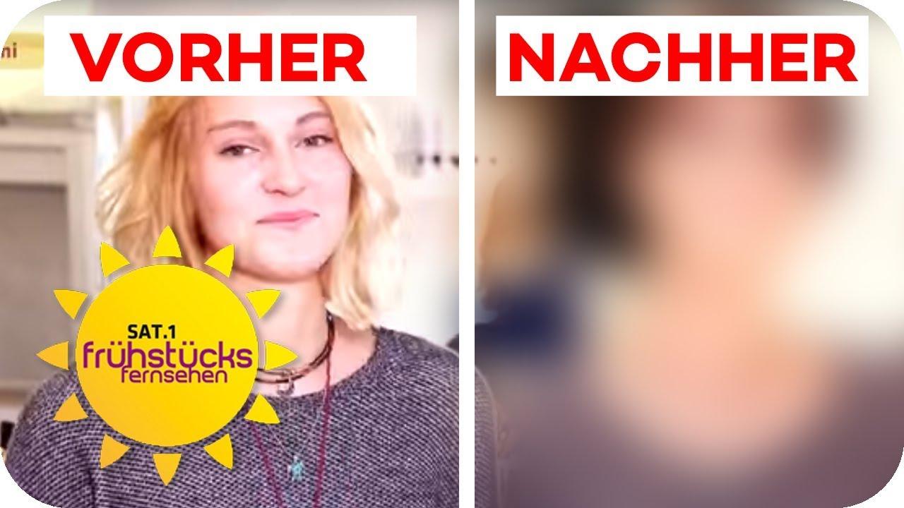 Umstyling Zur Star Frisur Normalos Kriegen Styling Der Promis Sat 1 Fruhstucksfernsehen Tv