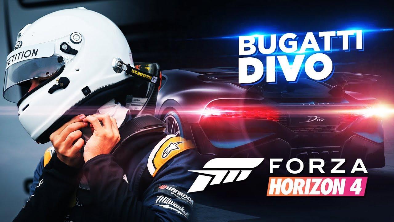 YENI Bugatti HIZ TESTİ (Divo) | Forza Horizon 4 - Haftanın Özel Arabaları #1