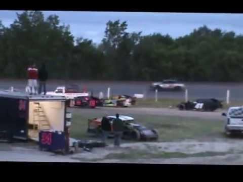 Kenney MotorSports 30PK 6/1/13 Mid Nebraska Speedway- Doniphan NE