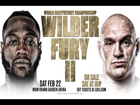 Deontay Wilder vs. Tyson Fury 2 / Деонтей Уайлдер - Тайсон Фьюри 2 / РЕН ТВ HD [Бокс, 22.02.2020, IPTV (1080р)]