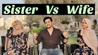 Who knows me better | sister Vs wife | Vlog - 60 | Nuziha & Ajmal
