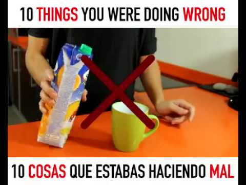 10 Things You've been Doing Wrong Everyday - I'm A Useless ... |Doing Wrong Stuff