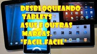 (NOVO 2017)Desbloqueando Senha Padrao de Tablet Asus e Outras Marcas,(NOVO 2017).