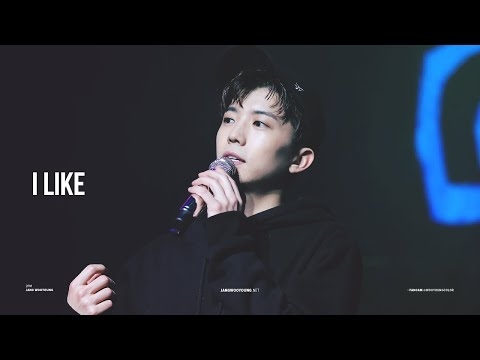 [FANCAM] 2018 우영(WOOYOUNG) SOLO CONCERT 엥?CALL! encore stage - I like