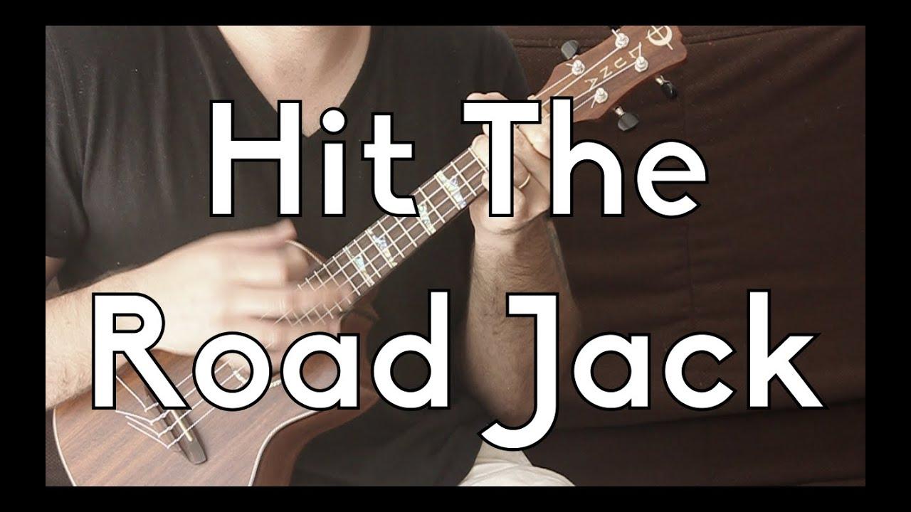 Hit The Road Jack Easy Ukulele Lesson Ray Charles