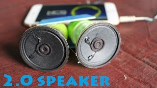 How to Make a 2.0 Speaker Very Simple