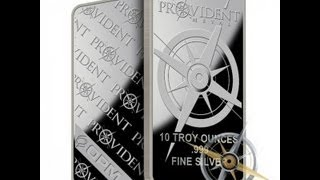 Silver Bar & Bullion Unboxing From Provident #4