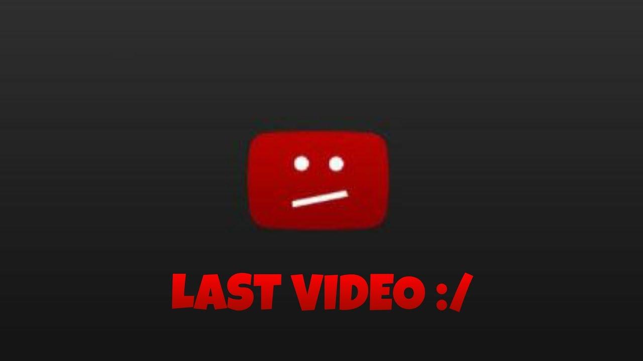 My last video :/ , Leaving YouTube,  Byee!