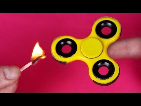 4 AWESOME FIDGET SPINNER TRICKS