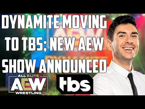 AEW Dynamite MOVING to TBS | AEW Rampage DEBUTING on Fridays | Major money for AEW? | Tony Khan TALK