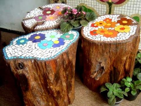 45 Fabulous Tree Stump Landscaping And Decor Ideas Youtube