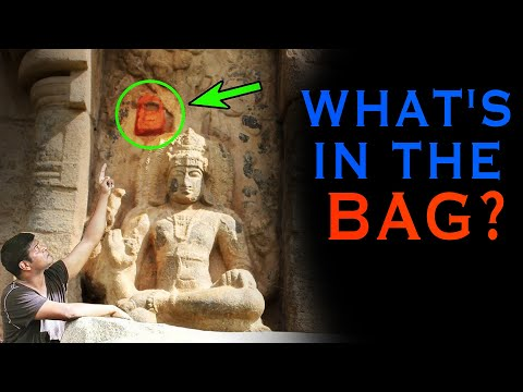 Mysterious Handbag of SHIVA Spotted - What's INSIDE?