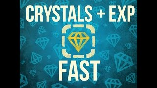 Repeat youtube video Tanki Online Guide to crystals + Experience FAST