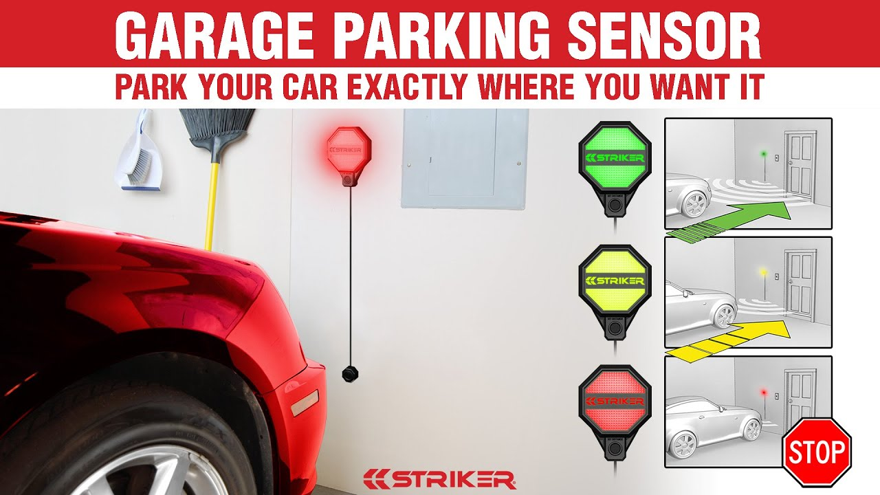 Garage Parking Stop >> Striker Garage Parking Sensor Youtube