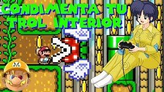 Desafío mega TROLL entre caballeros del kaizo (Orégano) | Mario maker en español