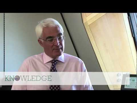 Former UK Chancellor of the Exchequer Alistair Darling on the financial crisis
