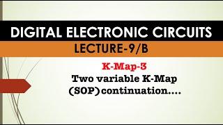 Digital Electronic Circuits-9/B