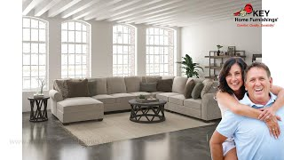 Ashley Wilcot 5 Piece Sectional With Chaise (APK-28701SL5) | KEY Home