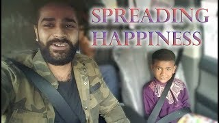 SPREADING HAPPINESS!!!!! *emotional*