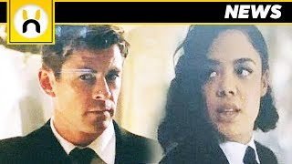 FIRST LOOK at Men in Black Spinoff Chris Hemsworth and Tessa Thompson