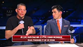 Nate Diaz on UFC 196 win