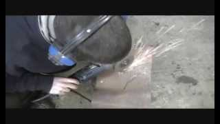 Cut A Round Hole With An Angle Grinder - Backyard Mechanic Diy