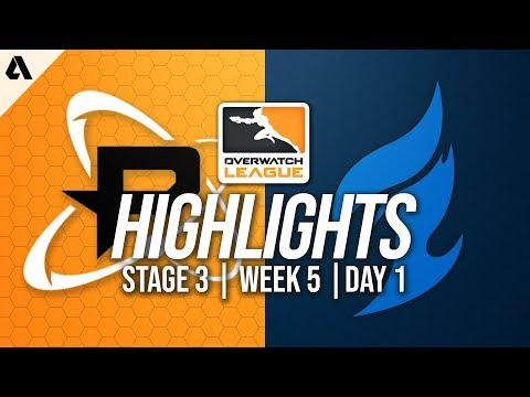 Philadelphia Fusion vs Dallas Fuel | Overwatch League Highlights OWL Stage 3 Week 5 Day 1