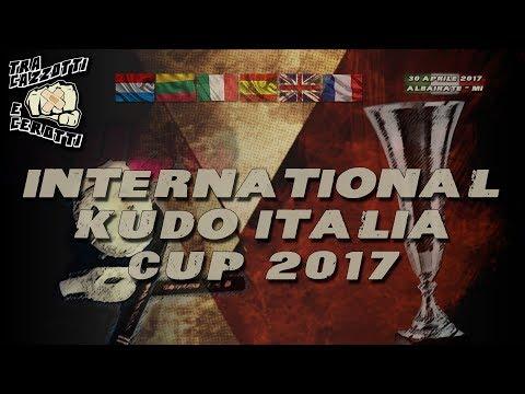 Tra cazzotti e cerotti - INTERNATIONAL KUDO ITALIA CUP 2017