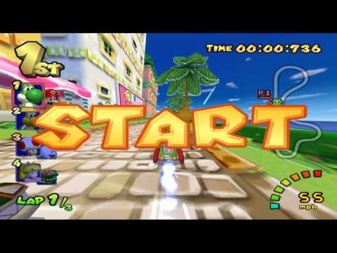 Mario Kart Double Dash All Cup 150cc (160 points) Solo Co-op (HD)