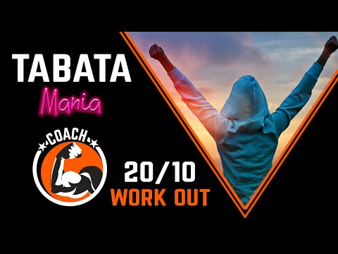 TABATA song with COACH - Workout music Voice Guided