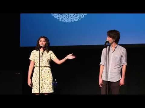 Sarah Kay and Phil Kaye (Future of StoryTelling 2014)
