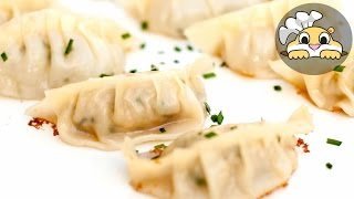 Dumplings: Dumpling Recipe - 3 Easy Steps (만두)