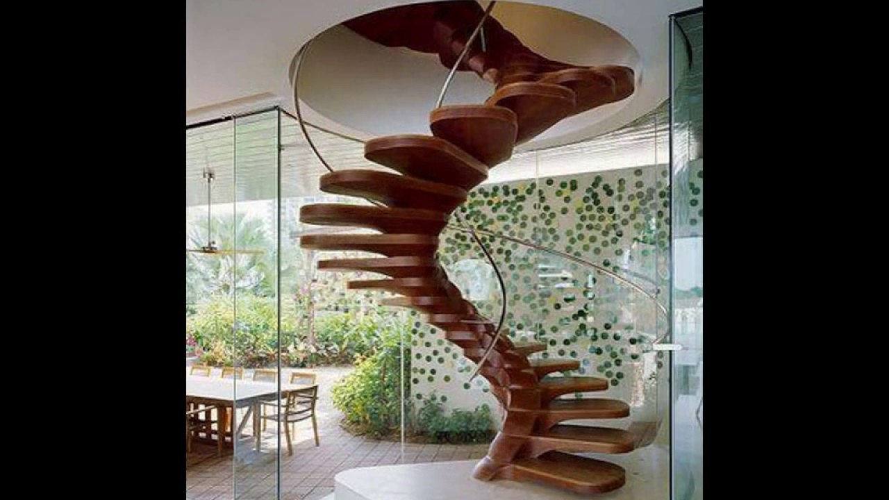 Kerala Homes 25 New Stair Case Designs Youtube