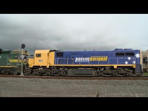 7904V Mildura To Melbourne Containers - PoathTV Australian Trains & Railways