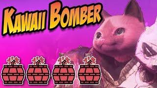 Monster Hunter World: Kawaii Bomber Armor