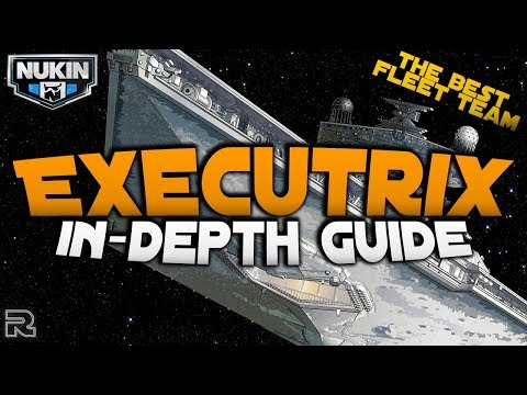 Best Ships 2.0 Team! | Executrix Guide | Star Wars: Galaxy of Heroes SWGOH thumbnail