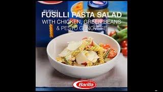 Barilla Express Sg - Fusilli Pasta Salad With Pesto, Chicken & Tomatoes