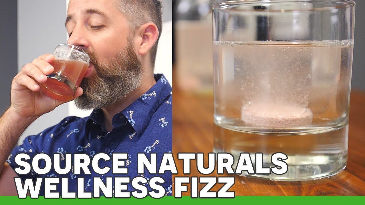 Boost Your Immune System with Source Naturals Wellness Fizz! | Review