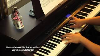 Kokoro Connect ED - Kokoro no Kara (Piano Transcription)