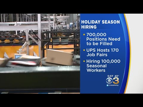 Holiday Hiring Season Is Underway