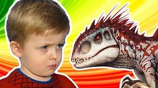 Загадки для Детей про Динозавров Большой Сборник Все серии подряд  Детям про Динозавров Lion boy