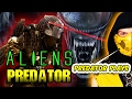 PREDATOR PLAYS - Aliens VS Predator Campaign (Gameplay W/ Scorpion)   AVP vs MKX PARODY!