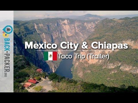 Best of Mexico City & Chiapas – Travel Video Montage