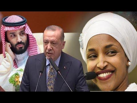 WARAR DEG DEG AH: Turkey oo Caalamka ku jeediyey Sacudiga iyo Ilhan Cumar oo Ka yaabsatay Yahuuda