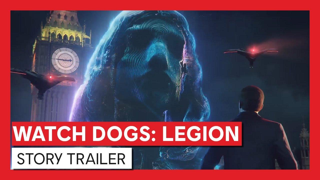 Watch Dogs: Legion – Story Trailer   Ubisoft