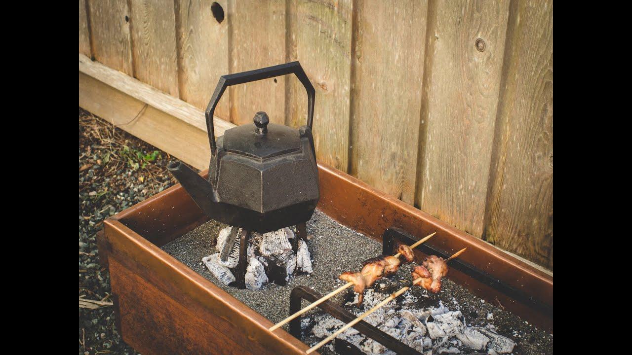 Edo Style Hibachi And Fire Tools   Japanese Charcoal Barbeque U0026 Tea