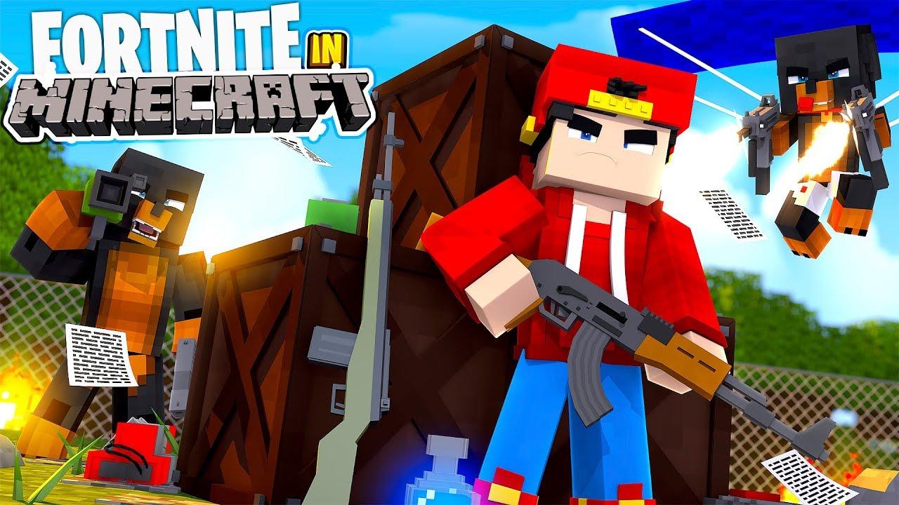 Fortnite In Minecraft Minecraft Adventure Phim22 Com