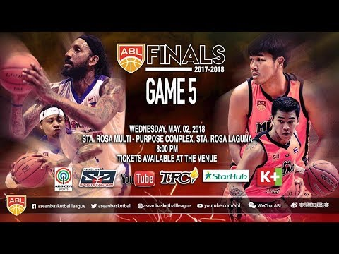 San Miguel Alab Pilipinas vs. Mono Vampire | LIVESTREAM | 2017-2018 ASEAN Basketball League